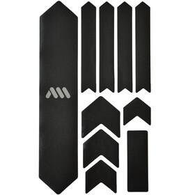 All Mountain Style Extra Kit di Protezione del Telaio 10 Pezzi, nero/argento